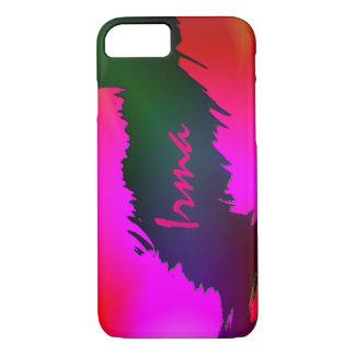 Caso a todo color del iPhone del estilo de Irma Funda iPhone 7