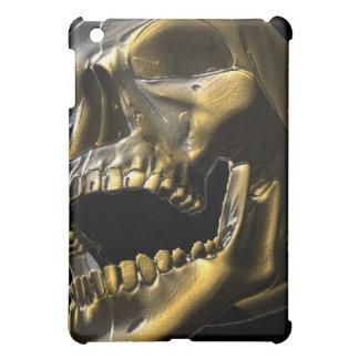 caso abierto de Ipad del cráneo de la boca del oro