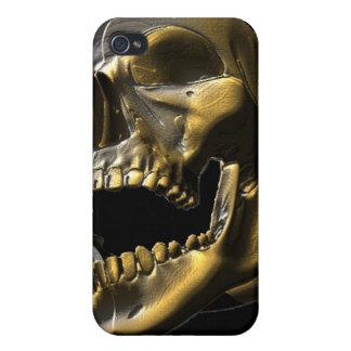 caso abierto de Iphone 4 4s del cráneo de la boca iPhone 4 Funda