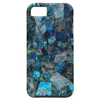 Caso abstracto artsy del iPhone 5/5S de las gemas iPhone 5 Carcasa