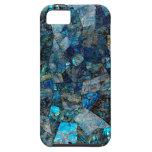 Caso abstracto artsy del iPhone 5/5S de las gemas Funda Para iPhone SE/5/5s