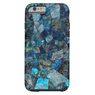 Caso abstracto artsy del iPhone 6/6s de las gemas Funda Resistente iPhone 6