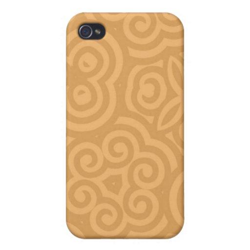 Caso abstracto de Iphone 4 del modelo iPhone 4/4S Fundas