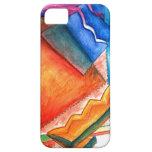 Caso abstracto de IPhone de la diversión del invie iPhone 5 Case-Mate Cárcasas