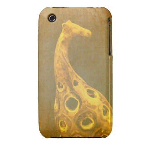 Caso abstracto de la jirafa iPhone3G iPhone 3 Case-Mate Coberturas