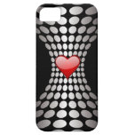 Caso abstracto del amor iPhone 5 Case-Mate protector