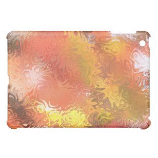 Caso abstracto del iPad de la mota del otoño