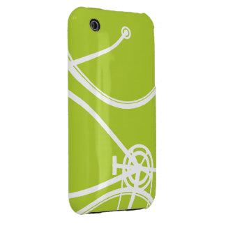 caso abstracto del iPhone 3 de la bicicleta 5Green iPhone 3 Case-Mate Cárcasas