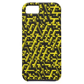 caso abstracto del iPhone 3D iPhone 5 Carcasa