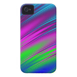 Caso abstracto del iPhone 4 del arco iris iPhone 4 Case-Mate Carcasa