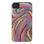 Caso abstracto del iPhone 4 Case-Mate iPhone 4 Protector