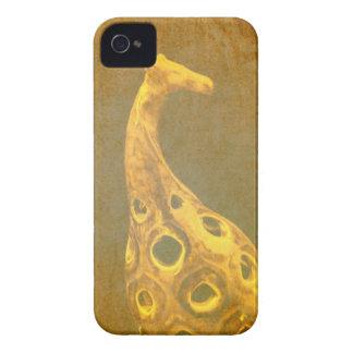 Caso abstracto del iPhone 4S de la jirafa Case-Mate iPhone 4 Funda