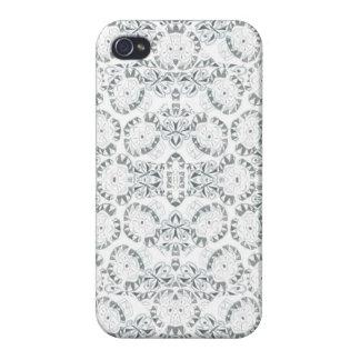 Caso abstracto del iPhone 5/5S del estampado de pl iPhone 4 Carcasas