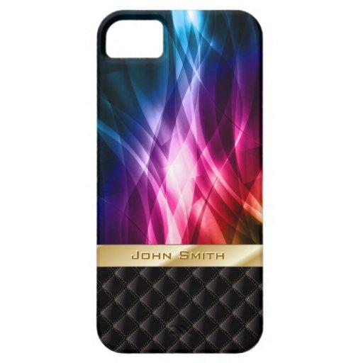 Caso abstracto del iPhone 5 de la aurora boreal Funda Para iPhone SE/5/5s