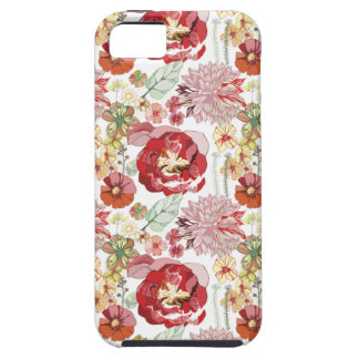 caso abstracto del iphone 5 de los chysanthemums d iPhone 5 Case-Mate protectores