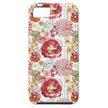 caso abstracto del iphone 5 de los chysanthemums iPhone 5 Case-Mate protectores