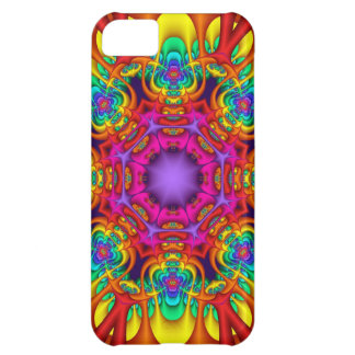 Caso abstracto del iPhone 5 del caleidoscopio del