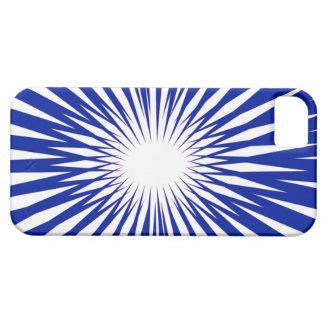 Caso abstracto del iPhone 5 del resplandor solar Funda Para iPhone SE/5/5s