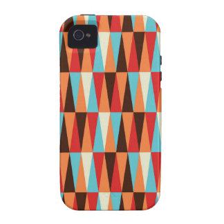 caso abstracto del iphone de la textura del triáng
