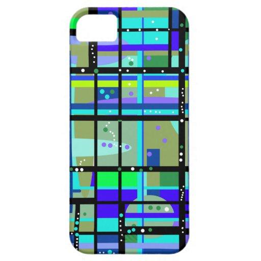 Caso abstracto del iPhone de no. 2 del diseño de Funda Para iPhone SE/5/5s