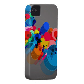 Caso abstracto del iPhone iPhone 4 Case-Mate Protector
