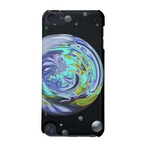 Caso abstracto del tacto de iPod de los planetas d