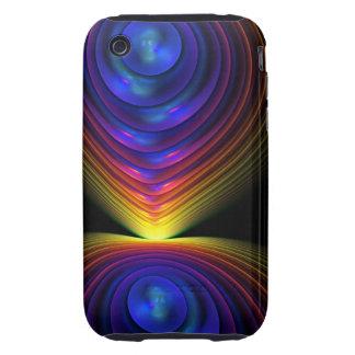 Caso abstracto fresco del iPhone 3 la demostración Tough iPhone 3 Carcasa