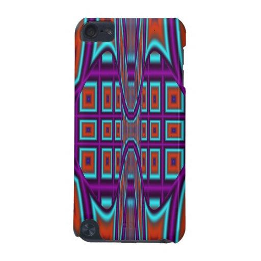 Caso abstracto fresco del tacto de iPod del modelo