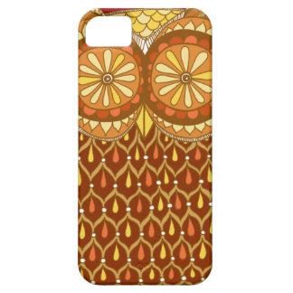 Caso abstracto maravilloso del iPhone 5 del búho iPhone 5 Case-Mate Carcasa