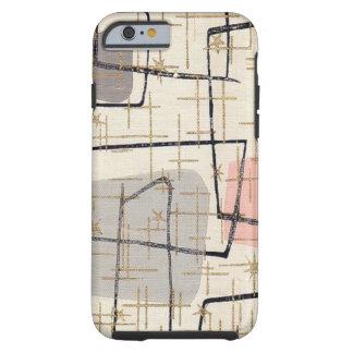 Caso abstracto moderno del iPhone 6 de la tela de Funda Resistente iPhone 6