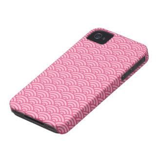 Caso abstracto rosado del iPhone 4 del modelo de o iPhone 4 Carcasas