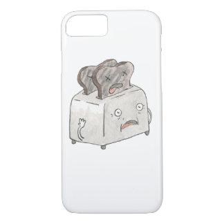 Caso accidental del iPhone 7 de la tostada Funda iPhone 7