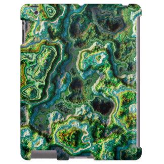 Caso acodado del iPad de la piedra 2 Funda Para iPad