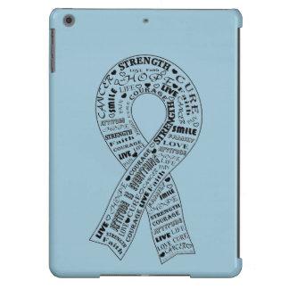 Caso adaptable de IPad de la conciencia del cáncer Funda Para iPad Air