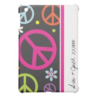 Caso adaptable del iPad del signo de la paz