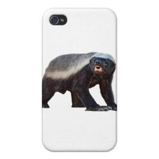 Caso adaptable del iPhone 4/4s del tejón de miel iPhone 4/4S Carcasas
