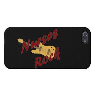 Caso adaptable del iPhone 5 de la roca de las enfe iPhone 5 Protectores