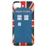 Caso adaptable del iPhone de la caja de policía iPhone 5 Funda