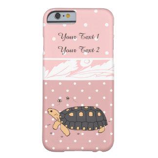 Caso adaptable del iPhone de la tortuga de Redfoot Funda Barely There iPhone 6