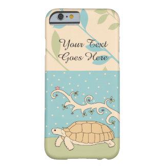 Caso adaptable del iPhone de la tortuga de Sulcata Funda Barely There iPhone 6