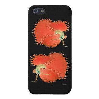 Caso adaptable del iPhone de los pescados de Betta iPhone 5 Carcasas