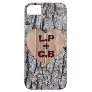 Caso adaptable del iPhone del árbol del amor iPhone 5 Cobertura