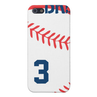 Caso adaptable del iPhone del béisbol iPhone 5 Fundas