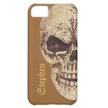 Caso adaptable del iPhone del cráneo asustadizo