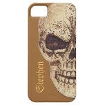 Caso adaptable del iPhone del cráneo asustadizo iPhone 5 Case-Mate Carcasa