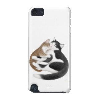 Caso adaptable del tacto de iPod de los gatos mate