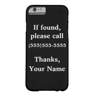 Caso adaptable divertido del iphone: Si está Funda De iPhone 6 Barely There