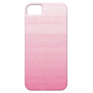Caso adaptable rosado brillante del iPhone 5 de iPhone 5 Fundas