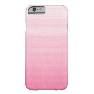 Caso adaptable rosado brillante del iPhone 6 de Funda Para iPhone 6 Barely There