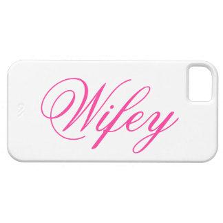 Caso adorable del iPhone 5 de Wifey iPhone 5 Protector